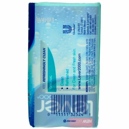 Lever 2000 Original Bar Soap Perspective: top