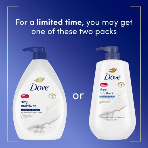 Dove Deep Moisture Nourishing Body Wash Perspective: top