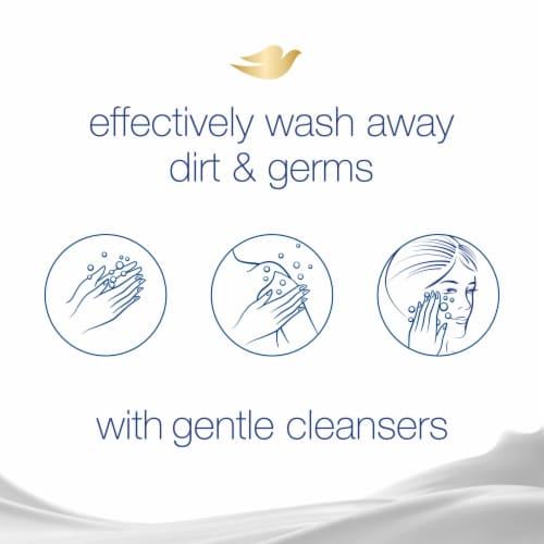 Dove Gentle Exfoliating Beauty Bars Perspective: top