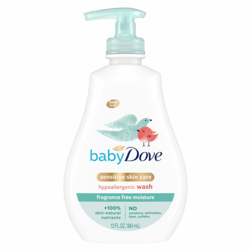Baby Dove Tip to Toe Sensitive Moisture Baby Wash Perspective: top