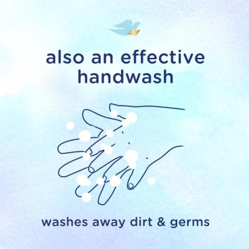 Dove Baby Sensitive Skin Care Hypoallergenic Wash Perspective: top