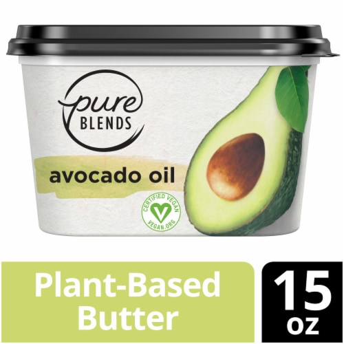 Pure Blends Avocado Oil Plant-Based Butter Perspective: top
