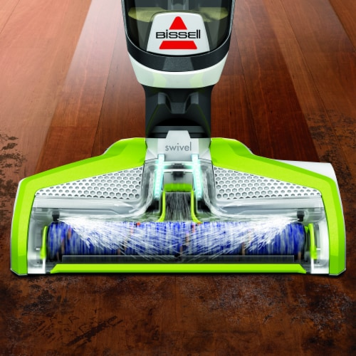 Bissell® CrossWave® Green & Black All-in-One Multi-Surface Wet Dry Vacuum Perspective: top