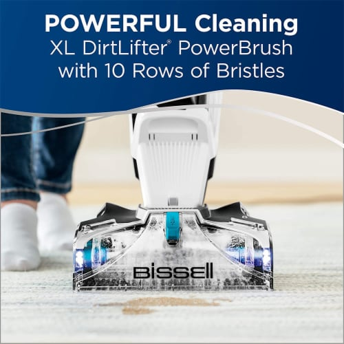 Bissell 25299 JetScrub Pet Upright Carpet Deep Cleaner w/Cleaning Solution Perspective: top