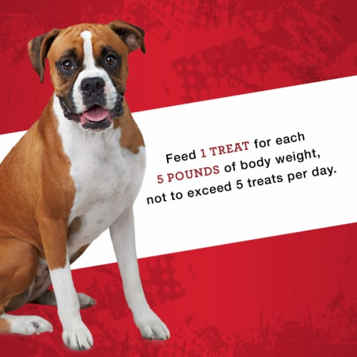 ALPO T-Bonz Porterhouse Flavor Dog Treats Perspective: top