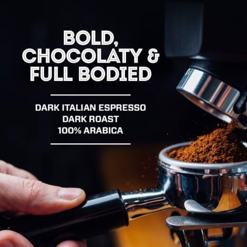 Eight O'Clock Dark Italian Roast Coffee K-Cup Pods Perspective: top