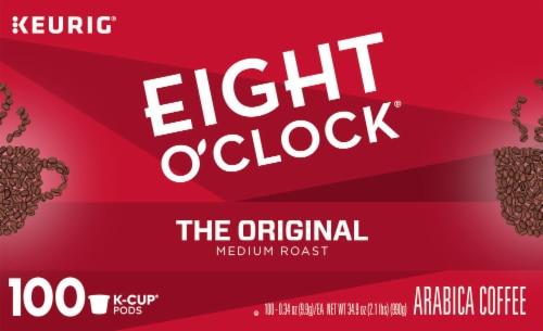 Eight O'Clock The Original Medium Roast K-Cup Coffee Pods Perspective: top