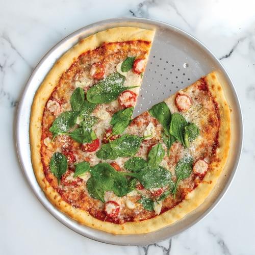 """Nordic Ware 16"""" Hot Air Pizza Crisper Perspective: top"""