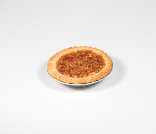 Table Talk Old Fashioned Baked Pecan Pie Perspective: top