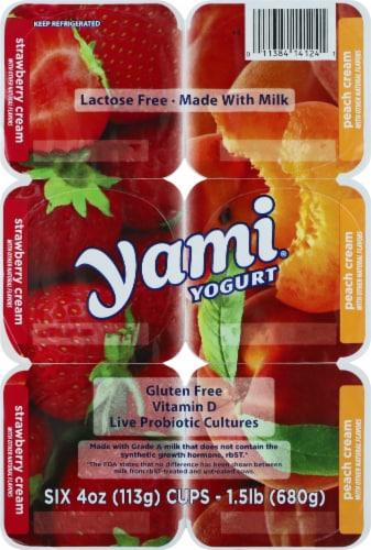 Li'l Yami Strawberries 'n Cream & Peaches 'n Cream Yogurt Perspective: top