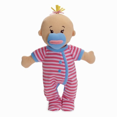 """Manhattan Toy Wee Baby Stella Sleepy Time Scents 12"""" Soft Baby Doll Set Perspective: top"""