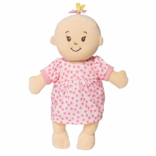 "Manhattan Toy Wee Baby Stella Peach 12"" Soft Baby Doll Perspective: top"