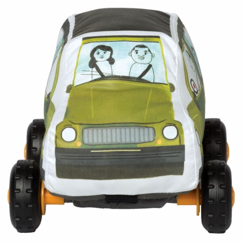 Manhattan Toy Bumpers SUV Toy Vehicle for Toddlers Perspective: top
