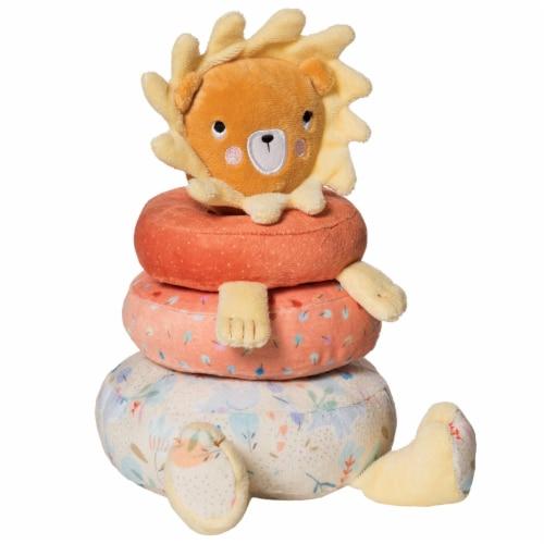 Manhattan Toy Safari Lion Plush Baby Stacking Toy Perspective: top