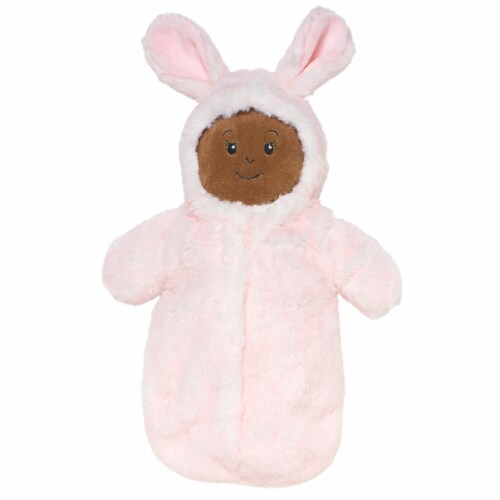 """Manhattan Toy Wee Baby Stella Snuggle Bunny 12"""" Baby Doll Sleeper Perspective: top"""