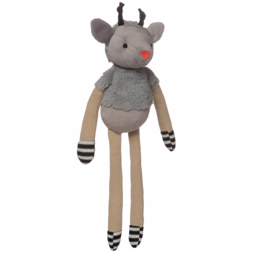 "Manhattan Toy Twiggies Sammy Stuffed Animal Deer, 16.5"" Perspective: top"