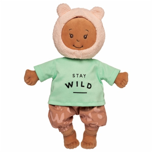 """Manhattan Toy Baby Stella Stay Wild Baby Doll Clothes for 15"""" Soft Baby Dolls Perspective: top"""