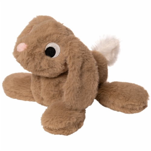 """Manhattan Toy Floppies Baby Bunny 7"""" Stuffed Animal Perspective: top"""