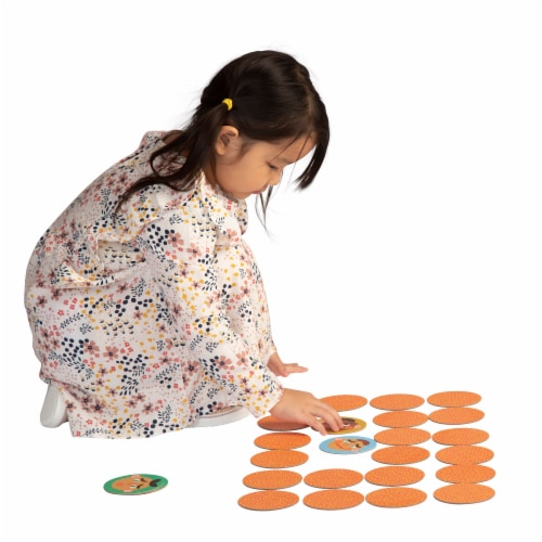 Manhattan Toy Making Faces Memory and Facial Recognition Matching Game for Toddlers Perspective: top