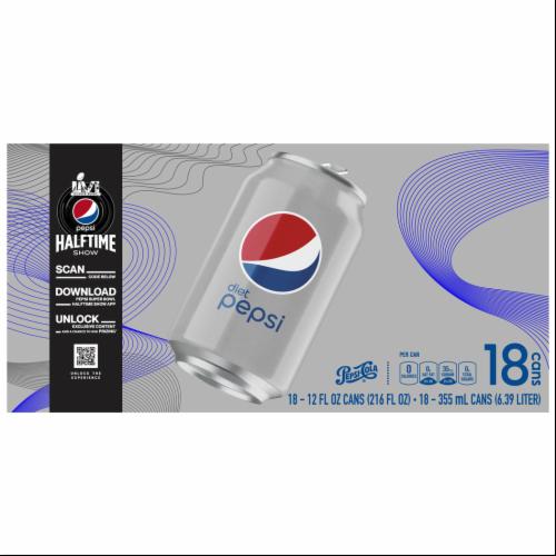 Diet Pepsi Soda Perspective: top