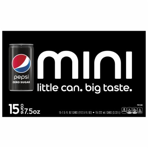 Pepsi Cola® Zero Sugar Soda Perspective: top