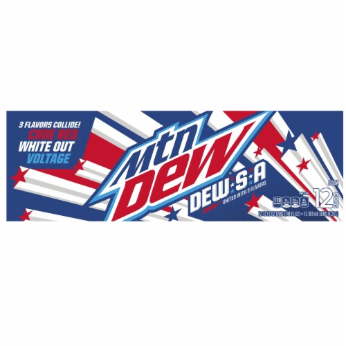 Mountain Dew Dew-S-A Soda Perspective: top