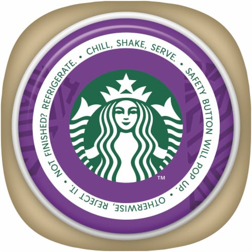 Starbucks® Frappuccino® Chocolate Churro Iced Coffee Drink Perspective: top