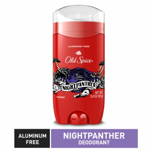 Old Spice Night Panther Deodorant Stick Perspective: top