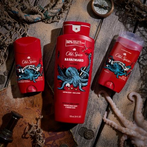Old Spice Men Body Spray Aluminum Free Wild Collection Krakengard Perspective: top