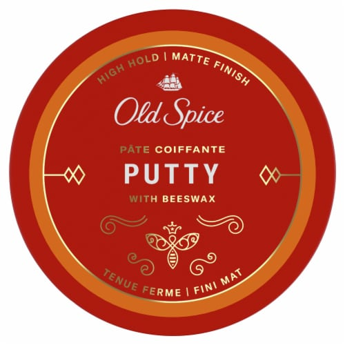 Old Spice High Hold & Texture Styling Putty Perspective: top