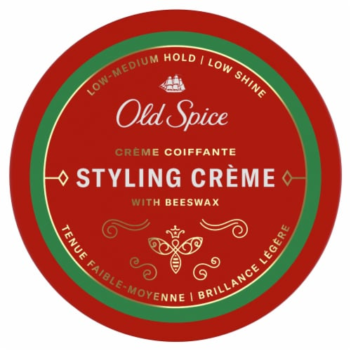 Old Spice Flexible Shine Hair Styling Cream Perspective: top