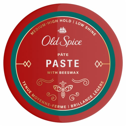 Old Spice Medium-High Hold Styling Paste Perspective: top