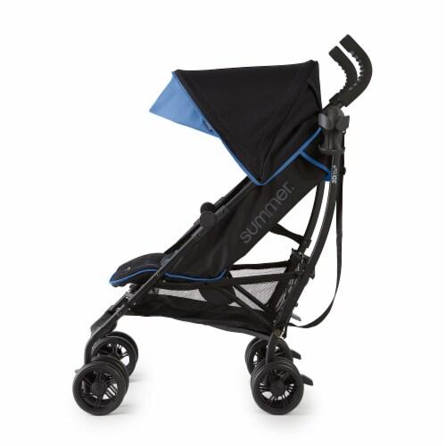 Summer Infant 3Dlite+ Convenience One-Hand Adjustable Stroller Blue/Black Perspective: top