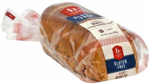 La Brea Gluten Free Sliced White Artisan Sandwich Bread Perspective: top