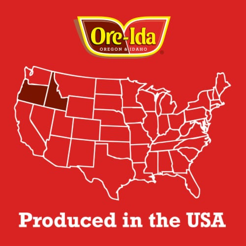 Ore-Ida Shredded Hash Brown Potatoes Perspective: top