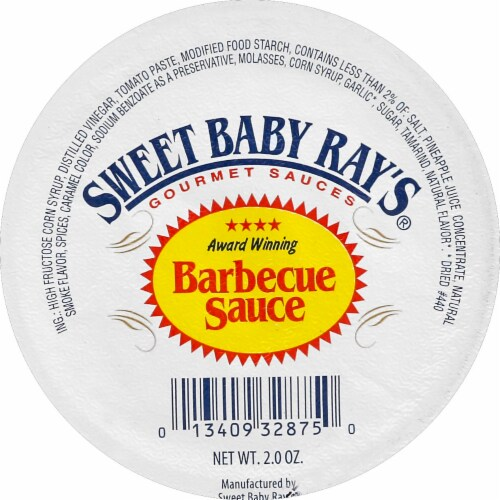 Sweet Baby Ray's Original Barbecue Sauce Perspective: top