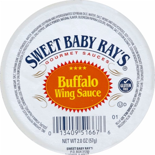 Sweet Baby Ray's Buffalo Wing Sauce Perspective: top