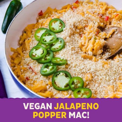 Annie's Organic Gluten Free Vegan Mac Elbow Rice Pasta & Cheddar Sauce Perspective: top
