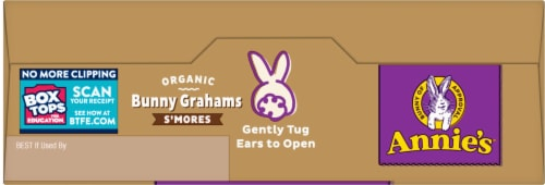 Annie's Organic S'Mores Bunny Grahams Perspective: top