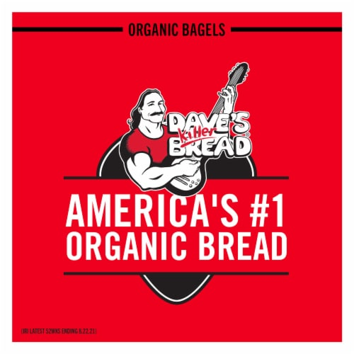 Dave's Killer Bread® Organic Epic Everything Bagels Perspective: top