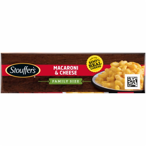 Stouffer's Family Size Macaroni & Cheese Frozen Meal Perspective: top