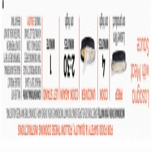 Lean Cuisine® Favorites Lasagna With Meat Sauce Frozen Meal Perspective: top