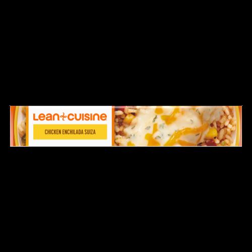 Lean Cuisine® Favorites Chicken Enchilada Suiza Frozen Meal Perspective: top