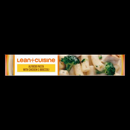 Lean Cuisine Favorites Alfredo Pasta with Chicken & Broccoli Frozen Meal Perspective: top