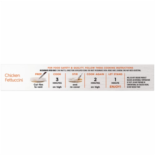 Lean Cuisine® Favorites Chicken Fettuccini Frozen Meal Perspective: top
