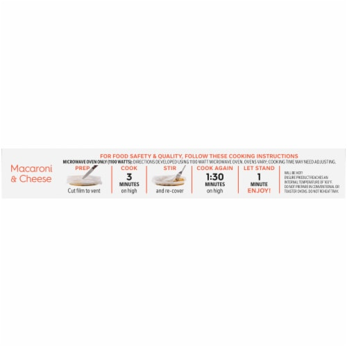 Lean Cuisine® Favorites Macaroni & Cheese Frozen Meal Perspective: top