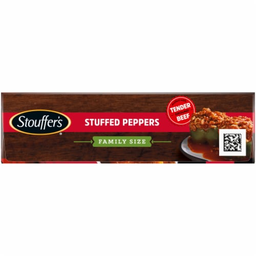 Stouffer's Family Size Stuffed Peppers Frozen Dinner Perspective: top