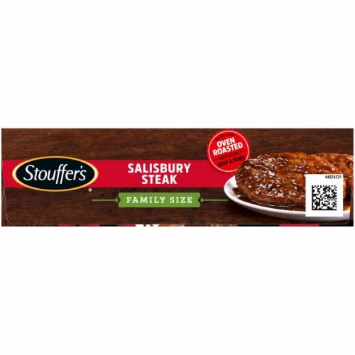 Stouffer's® Salisbury Steak Frozen Meal Family Size Perspective: top