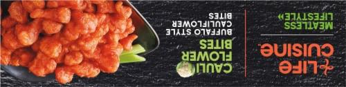 Life Cuisine Buffalo Style Cauliflower Bites Perspective: top