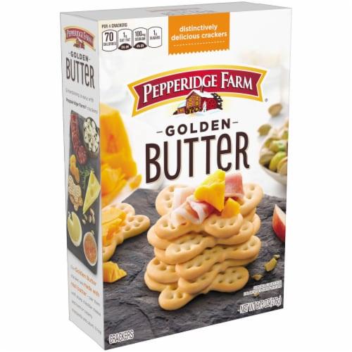 Pepperidge Farm Golden Butter Crackers Perspective: top
